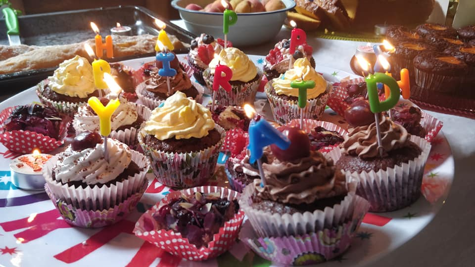 happybirthday cupcakes